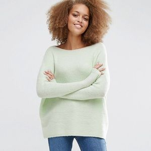 Asos Ultimate Chunky Sweater Mint Green
